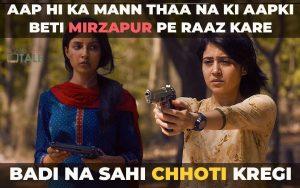mirzapur season 2 dialogues